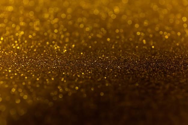 Brilho abstrato brilhante luzes de fundo. luzes sem foco Foto Premium