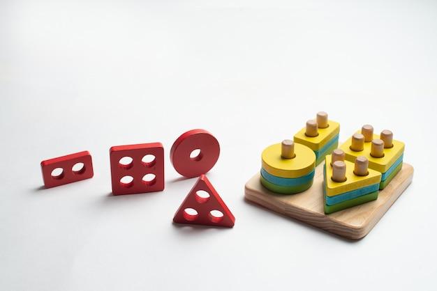 Brinquedo em desenvolvimento colorido para crianças Foto Premium