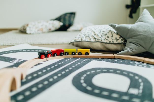 Brinquedo trem Foto Premium