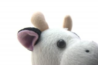 Brinquedo vaca engraçada Foto gratuita