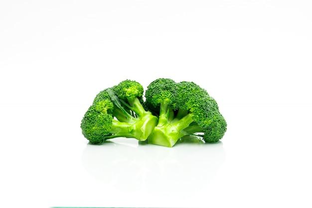 Brócolis verde (brassica oleracea) Foto Premium