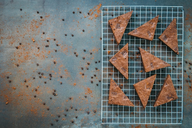 Brownies de chocolate Foto gratuita