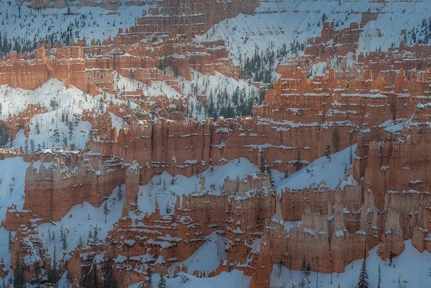 Bryce canyon durante o pôr do sol Foto Premium