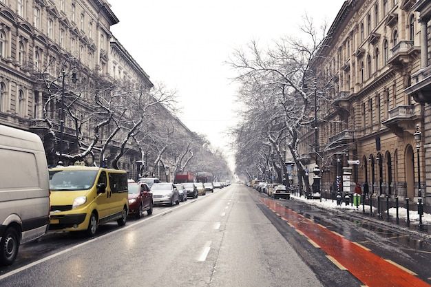 Budapeste no inverno Foto Premium