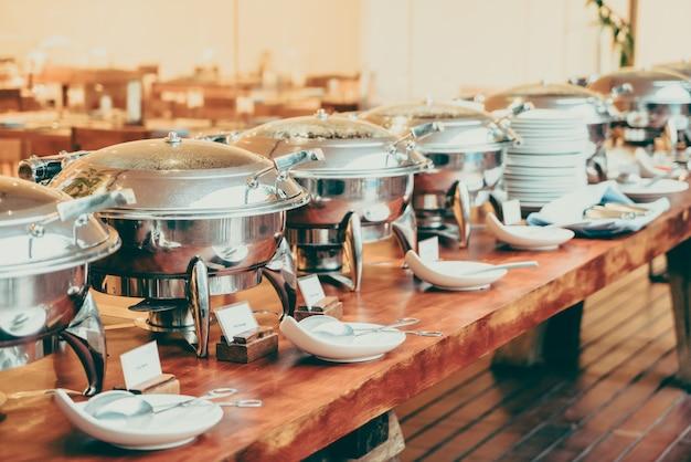 Bufê de catering Foto gratuita