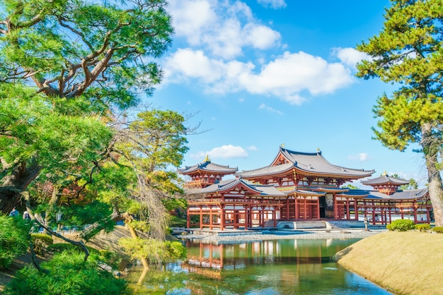 Byodo-in temple kyoto, japão Foto gratuita