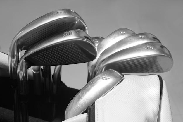 Cabeça de taco de golfe Foto Premium