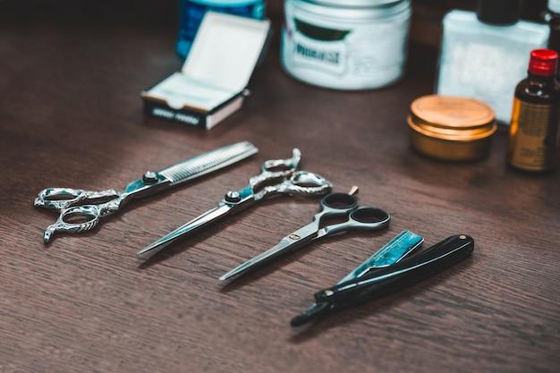 Cabeleireiro e salão de cabeleireiro Foto Premium