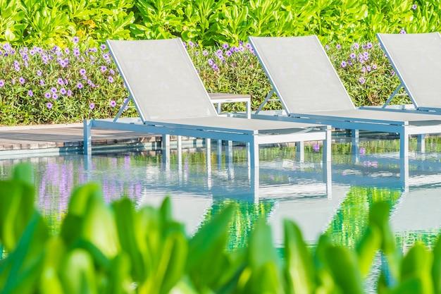 Cadeira de piscina Foto gratuita