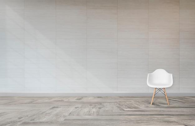 Cadeira em uma sala de estar Foto gratuita