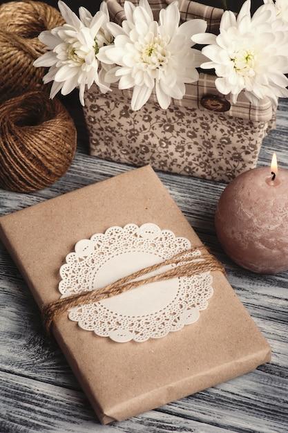 Caderno artesanal de artesanato Foto Premium