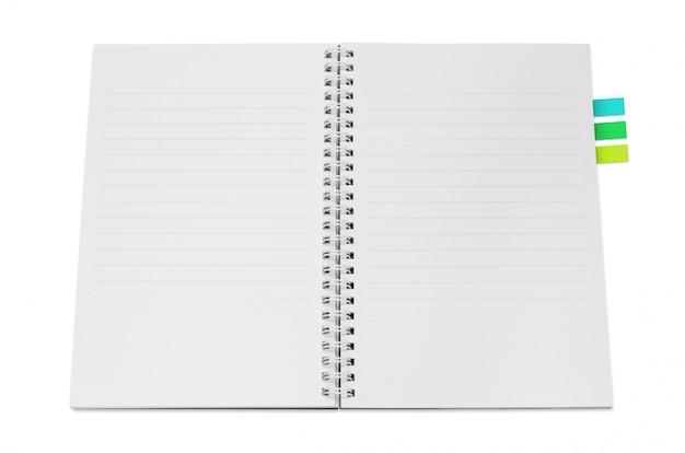 Caderno isolado Foto Premium
