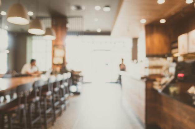 Café borrão abstrata Foto gratuita