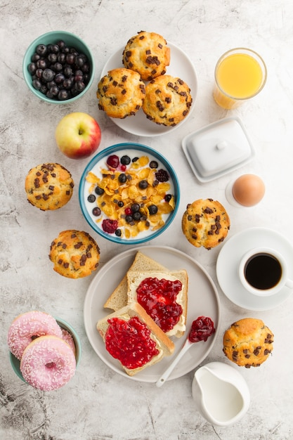 Preferência Café da manhã delicioso para o bom dia | Baixar fotos gratuitas HW89