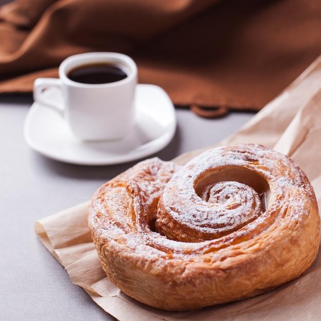 Café da manhã e biscoito Foto Premium