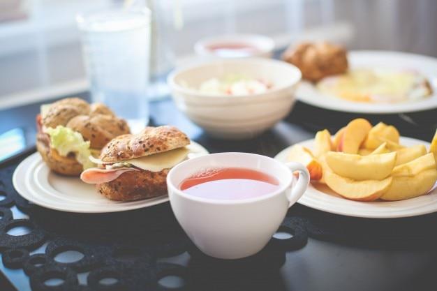 Café da manhã fresca Foto gratuita