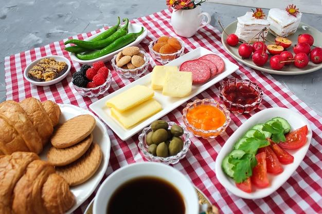 Café da manhã turco Foto gratuita