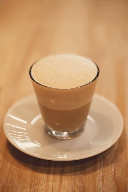 Café em vidro Foto gratuita
