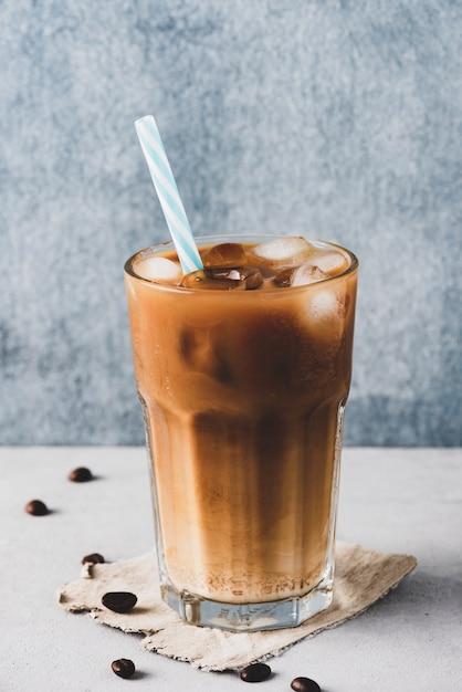 Café gelado com leite Foto Premium