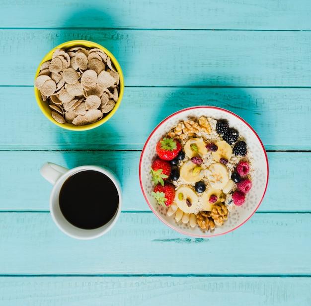Café, muesli e cereais Foto gratuita