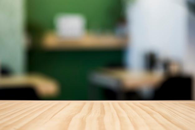 Cafeteria com efeito borrado Foto gratuita