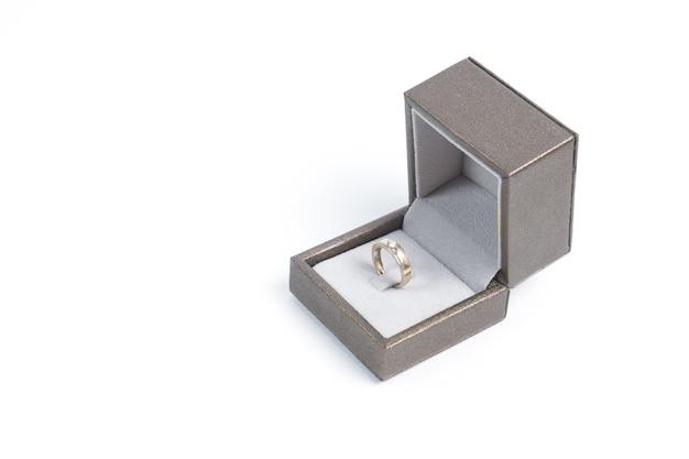 Caixa com anel Foto Premium