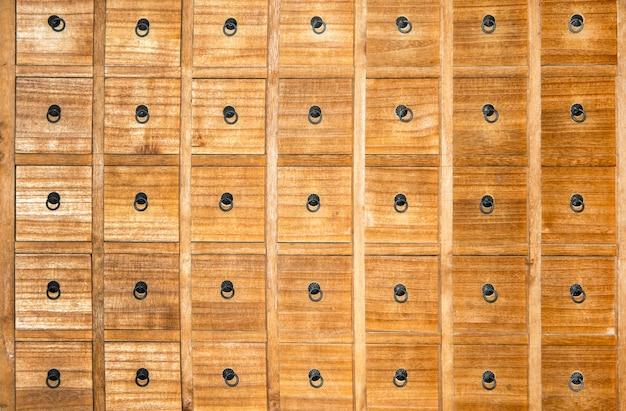 Caixa De Madeira Do Botic Rio Com Fundo Das Gavetas Baixar Fotos