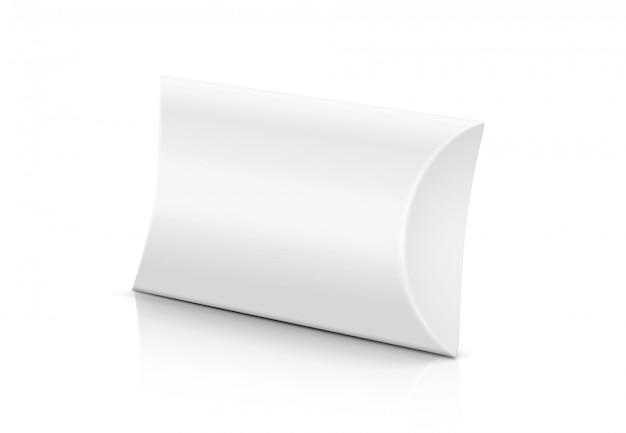 Caixa de papel de cradboard de barra de sabão branco Foto Premium