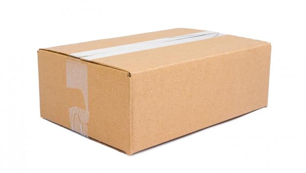 Caixa móvel única caixa isolada Foto Premium