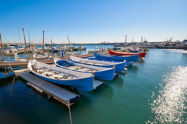 Cambrils port marina em tarragona catalunha Foto Premium