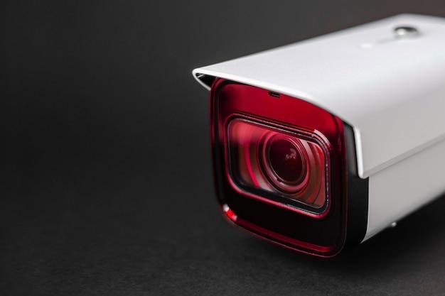 Câmera de cctv. sistema de segurança. Foto Premium