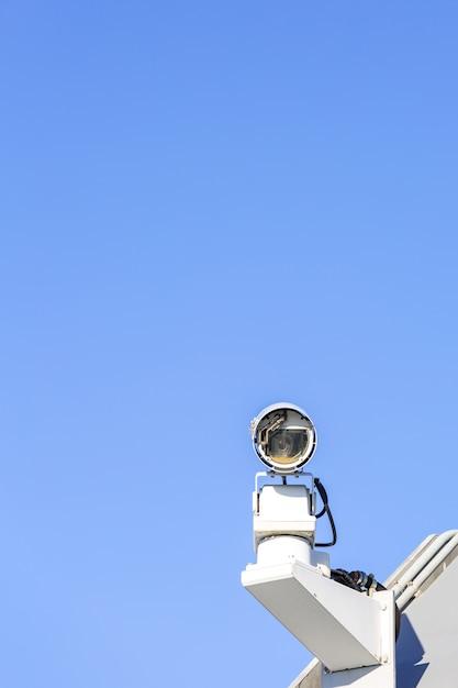 Câmera de segurança cctv Foto Premium