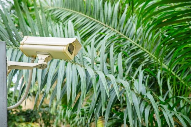 Câmera de segurança para monitorar o lugar de viagem. Foto gratuita