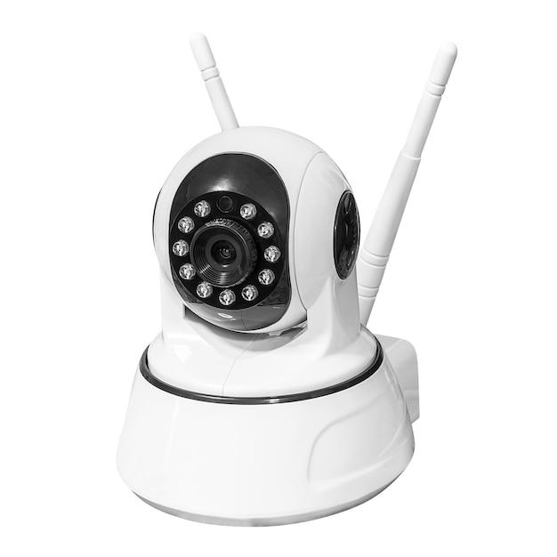 Câmera de segurança sem fio Foto Premium
