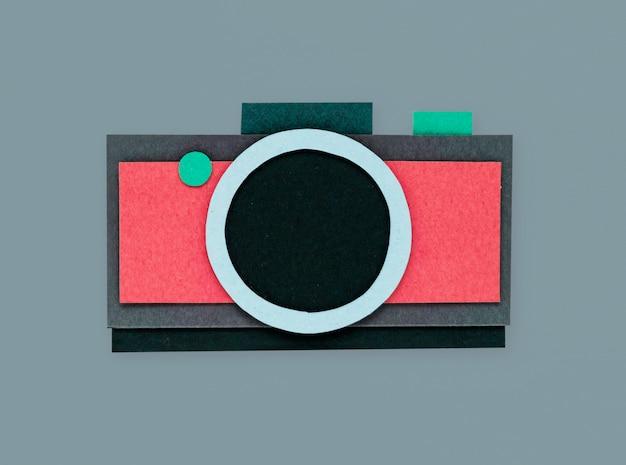 Câmera digital shoot photo icon Foto gratuita