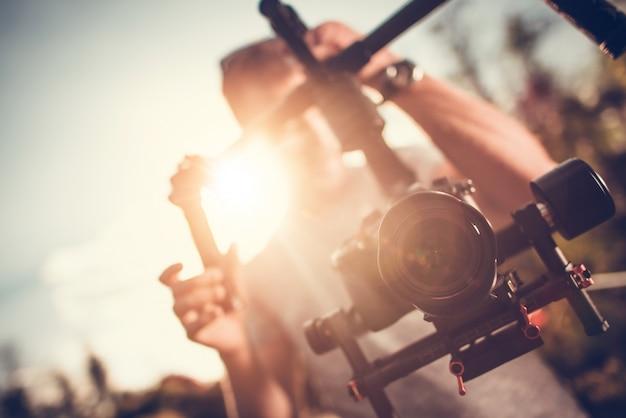 Camera gimbal dslr video Foto gratuita