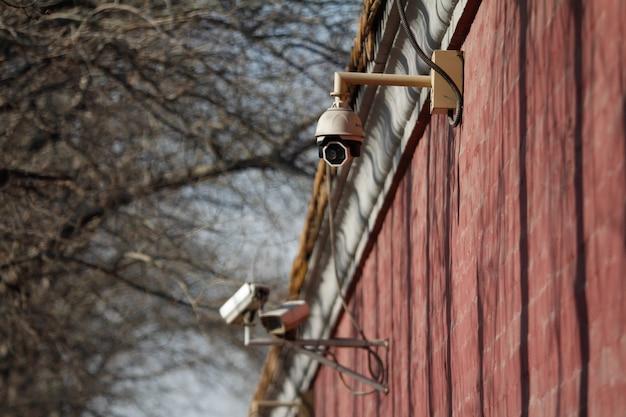 Câmeras de vigilância Foto gratuita