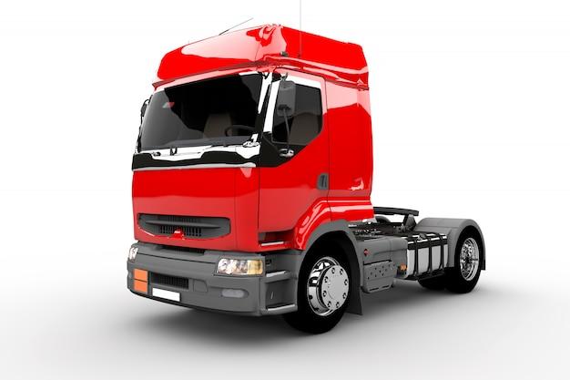 Caminhão vermelho Foto Premium