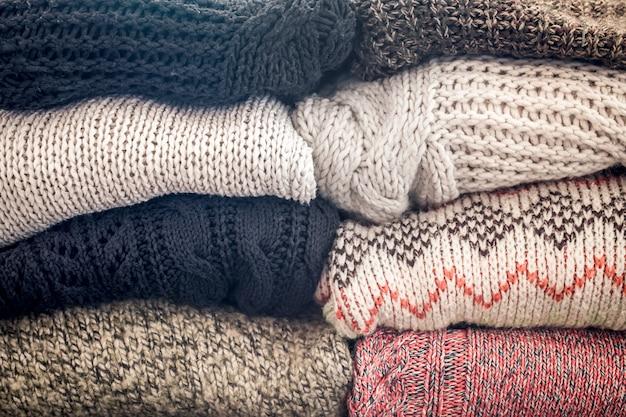 Camisolas acolhedoras quentes Foto Premium