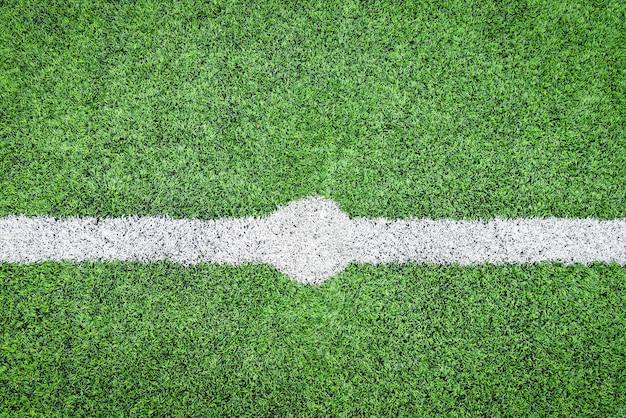 Campo de futebol campo de futsal grama verde fundo esporte ao ar livre Foto Premium