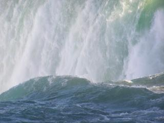 Canadá - niagara falls - primavera, o poder Foto gratuita