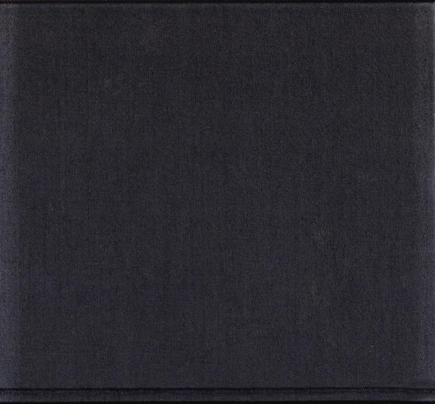 Capa de livro preta grunge Foto Premium