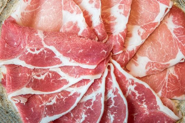 Carne de porco e carne de porco Foto Premium