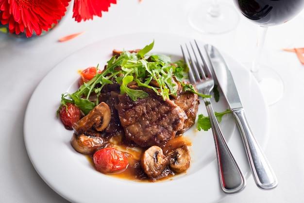 Carne grelhada japonesa Foto Premium