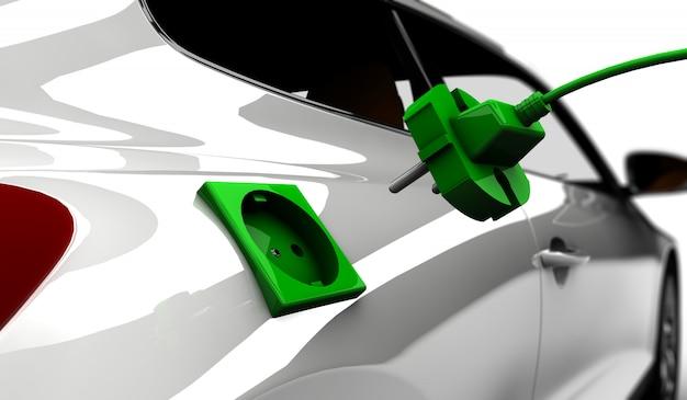 Carro elétrico Foto Premium