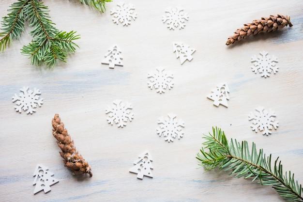 Cartão de férias de natal Foto Premium