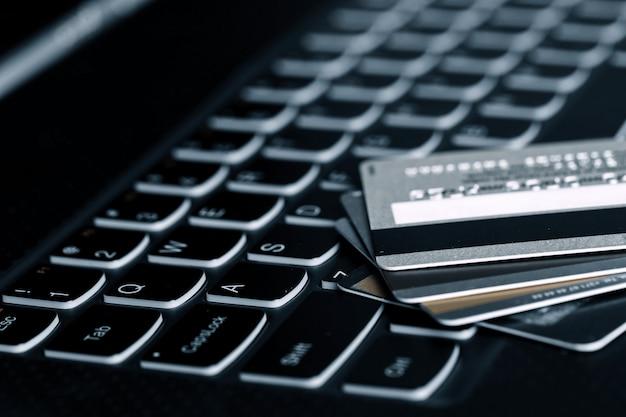 Cartões de crédito Foto gratuita