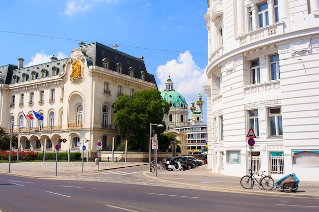Casa da embaixada francesa na áustria Foto Premium