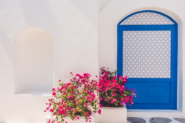 Casa de verão blue aegean grécia Foto gratuita