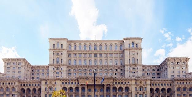 Casa do parlamento da romênia Foto Premium